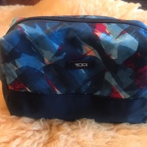 Tumi nylon cosmetic/travel bag.